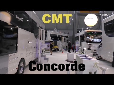 CMT Messe Stuttgart 2016 - CONCORDE 35 Jahre Luxus-Reisemobile / Luxury campers