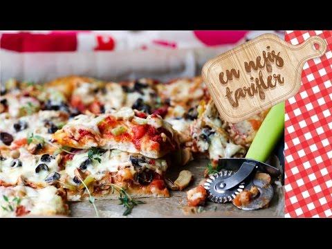 Evde Kolay Pizza Nasıl Yapılır? (Yemek Tarifleri)