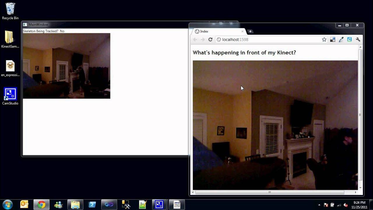 The Securty Camera – Kinectonitor | Kinect Hacks