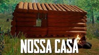 CONSTRUÍNDO A MAIOR CASA - The Forest