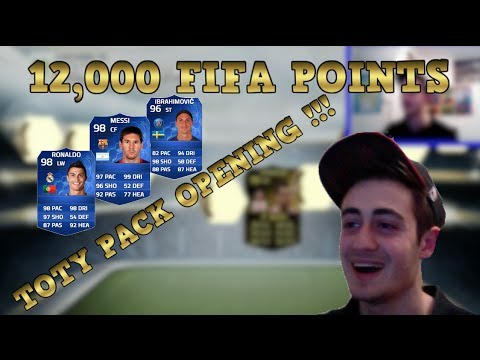 EPIC 12,000 FIFA POINTS TOTY PACK OPENING! Ft. 2 IF'S & HIGH RATED PLAYERS | FIFA 14 Ultimate Team