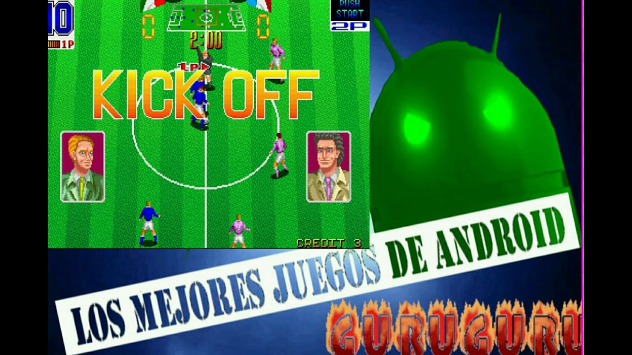 Juego Retro Arcade Futbol Android Neo Geo Maquina Recreativa Youtube