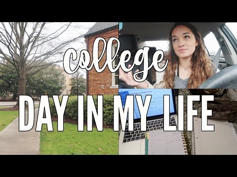 COLLEGE DAY IN MY LIFE: classes + organizing