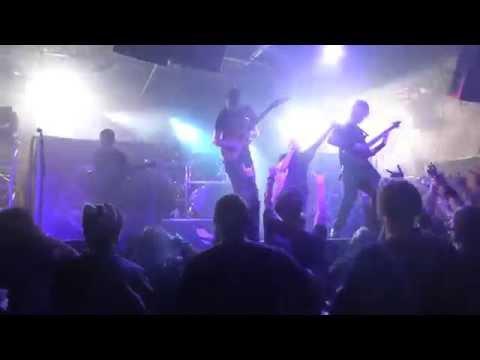 Allegaeon - Dyson Sphere (Houston 12.02.15) HD
