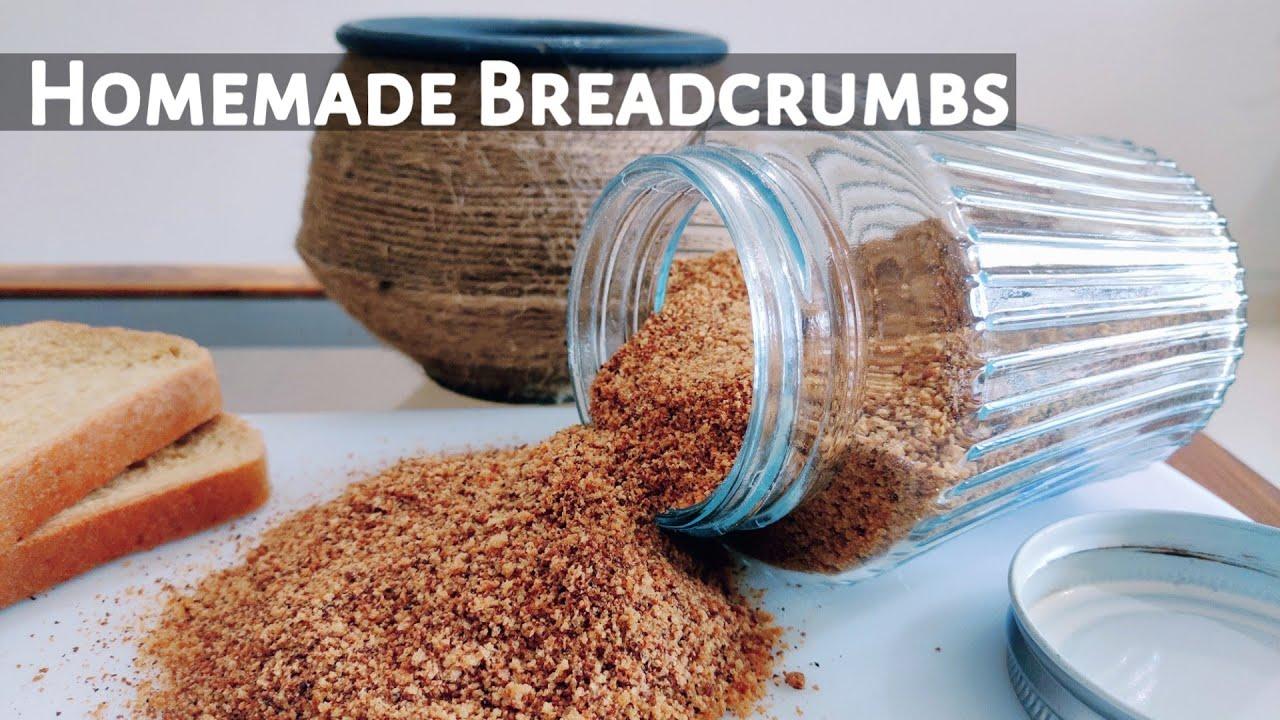 Breadcrumbs Recipe || Simple and Easy method of making Breadcrumbs at home || ब्रेड क्रम्स ||