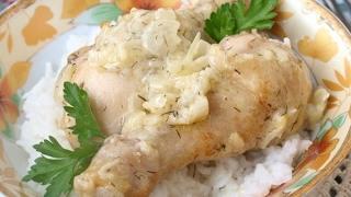 Куриные голени в фольге на второе - вкусно, быстро и просто!