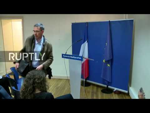 LIVE: Paris public prosecutor holds press conference after arrests in Marseille
