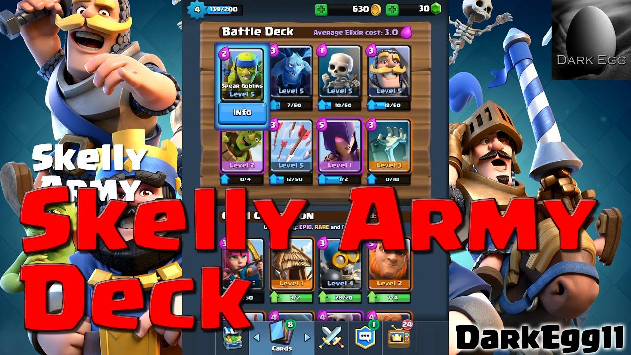 clash royal good arena 3 decks youtube broadcast
