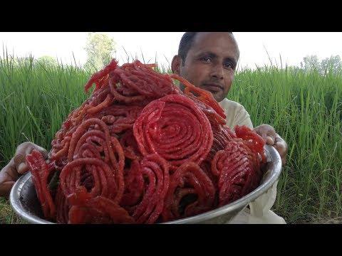 Jalebi Recipe | Crispy Crunchy Juicy Jalebi | Village Food Secrets