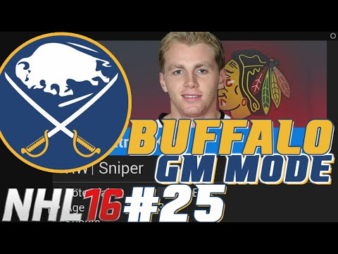 Year 6 Full Sim - NHL 16 - GM Mode Commentary - Buffalo ep. 25