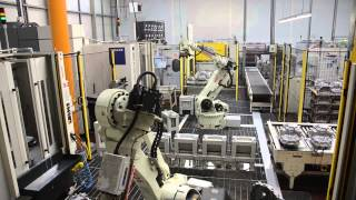 Kawasaki Robots Machine Load / Unload