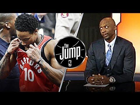 "Jason Terry Calls Out Demar Derozan: ""He didn't show up in playoffs""   The Jump"