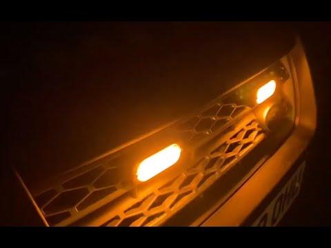 Fitting LED amber strobe lights to a Freelander 2
