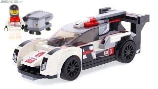 LEGO Speed Champions Audi R18 e-tron quattro review! 75872