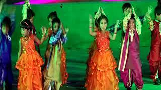 Gowtham model school, malkajgiri-ppt liitle kids dance performance