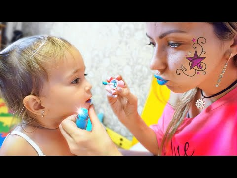 Мия просит косметику у мамы. Дочка как мама! Мия и я: Принцесса и беби бон!