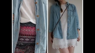 How to style a chambray shirt Thumbnail