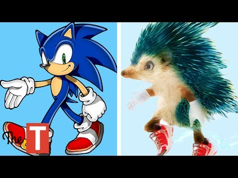10 Sonic Characters In Real Life Youtube