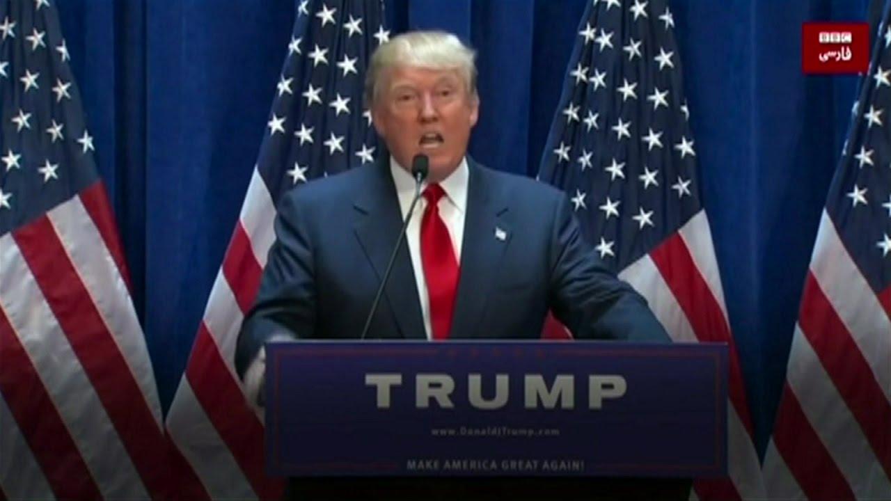 دونالد ترامپ در یک دقیقه