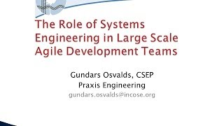 role of a systems engineer essay 6 systems engineering leads the technical execution of the project •accomplished by establishing the technical rhythm (cadence) by which the project marches •this is the weekly/periodic procedure that.
