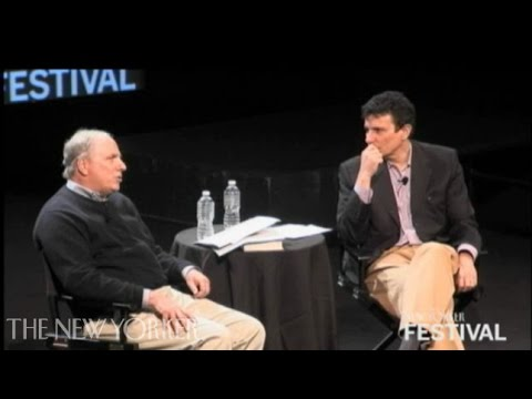 David Remnick and Ian Frazier  in conversation - The New Yorker Festival - The New Yorker