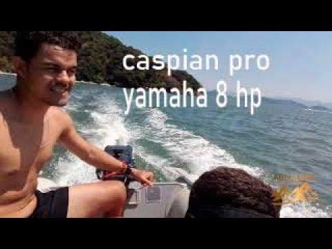 Bote caspian pro bestway hidro force motor yamaha 8 hp 2 tempos