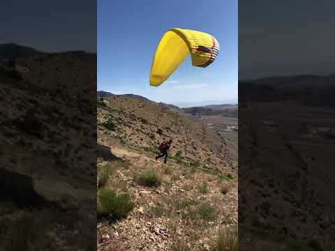 *PARAGLIDING LAS VEGAS* It Was A Beautiful Day To Launch Goodsprings