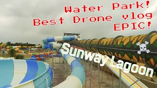 Sunway Lagoon water park, Pakistan, Drone vlog, FPV Karachi Quads, FPV Pakistan