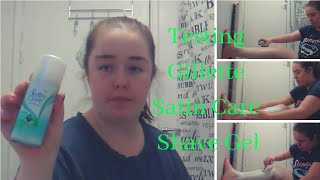 Testing Gillette Satin Care Shaving Gel   Molly ParkerSykes
