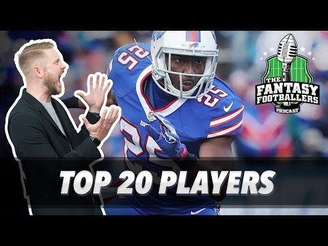 Fantasy Football 2017 - Top 20 Players & Best Ball Bonanza - Ep. #393