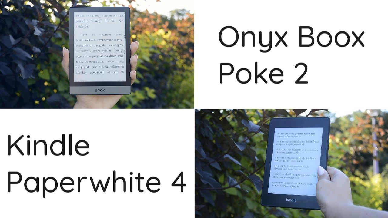 Który kompaktowy czytnik wybrać? Porównanie Kindle Paperwhite 4 i Onyx Boox Poke 2
