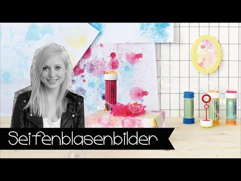 Seifenblasenbilder malen! Kindergeburtstag | Toddler | DIY | KINNERTIED | #16