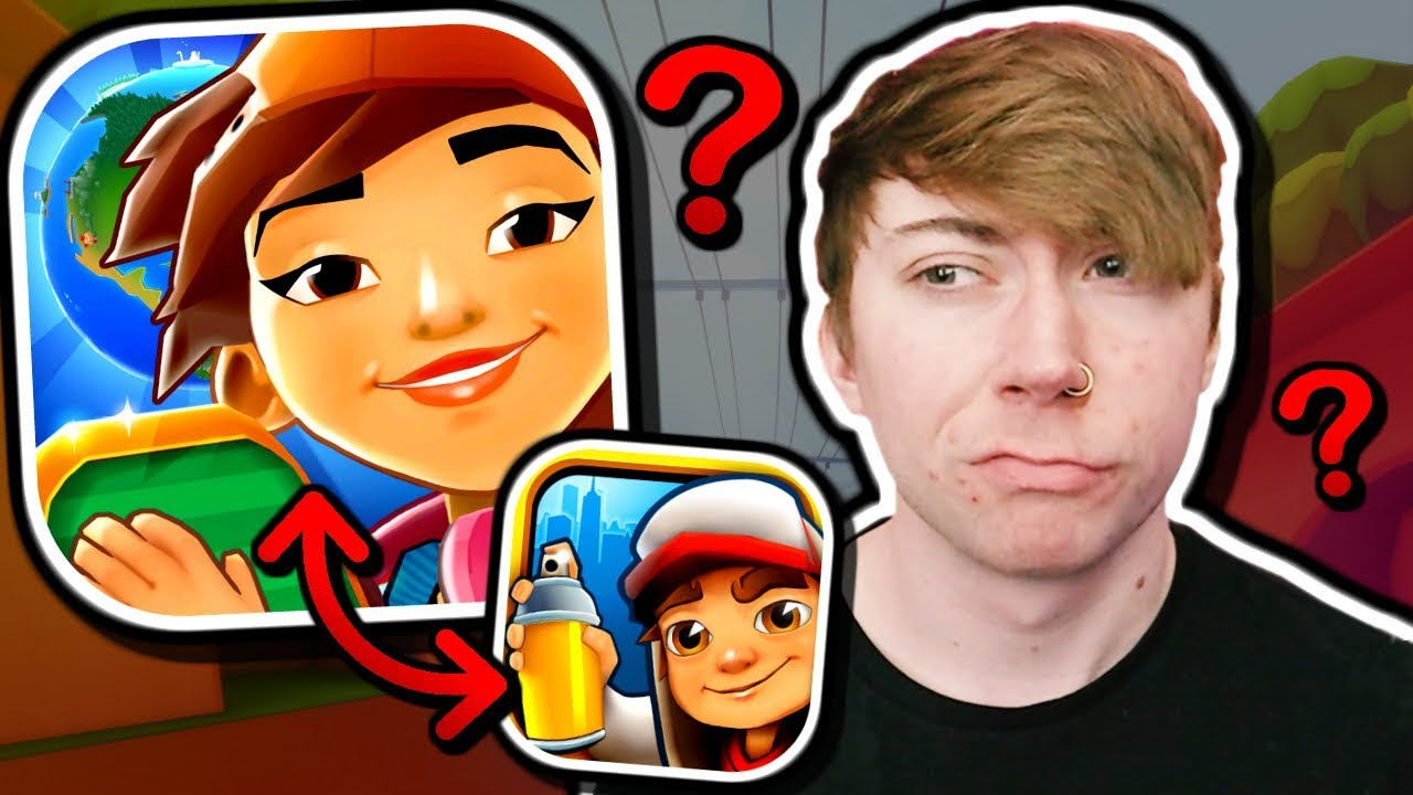 Download Subway Surfers ripped off Subway Surfers... (Train Riders)