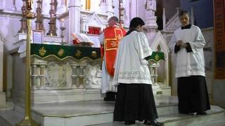 Low Mass Commemoration of Saint Agapitus
