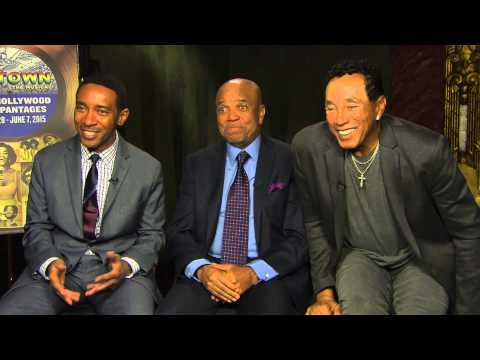Motown The Musical Interview with Berry Gordy, Smokey Robinson & Charles Randolph
