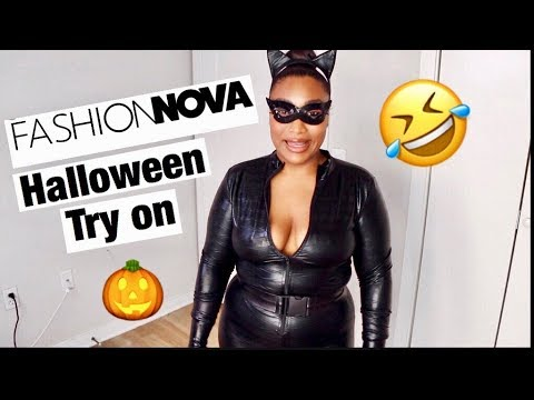 TRYING FASHION NOVA HALLOWEEN COSTUMES -- IRISBEILIN thumbnail
