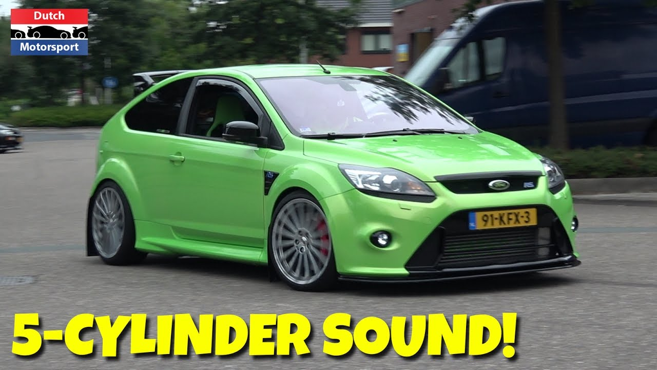 ford focus rs st 5 cylinder turbo acceleration sound. Black Bedroom Furniture Sets. Home Design Ideas