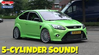 Ford Focus RS/ST 5-Cylinder Turbo Acceleration SOUND!