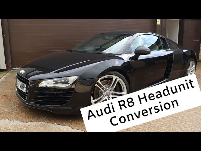 Audi R8 | Custom Radio Upgrade | Cambridge Car Audio