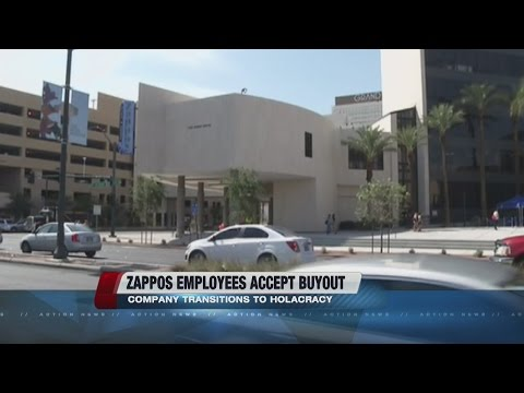 200 Zappos workers take buyouts after company cuts managers