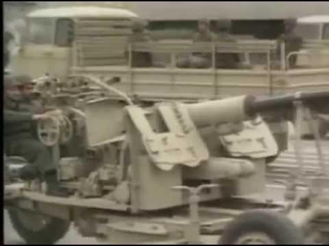 Footage of Iran-Iraq war