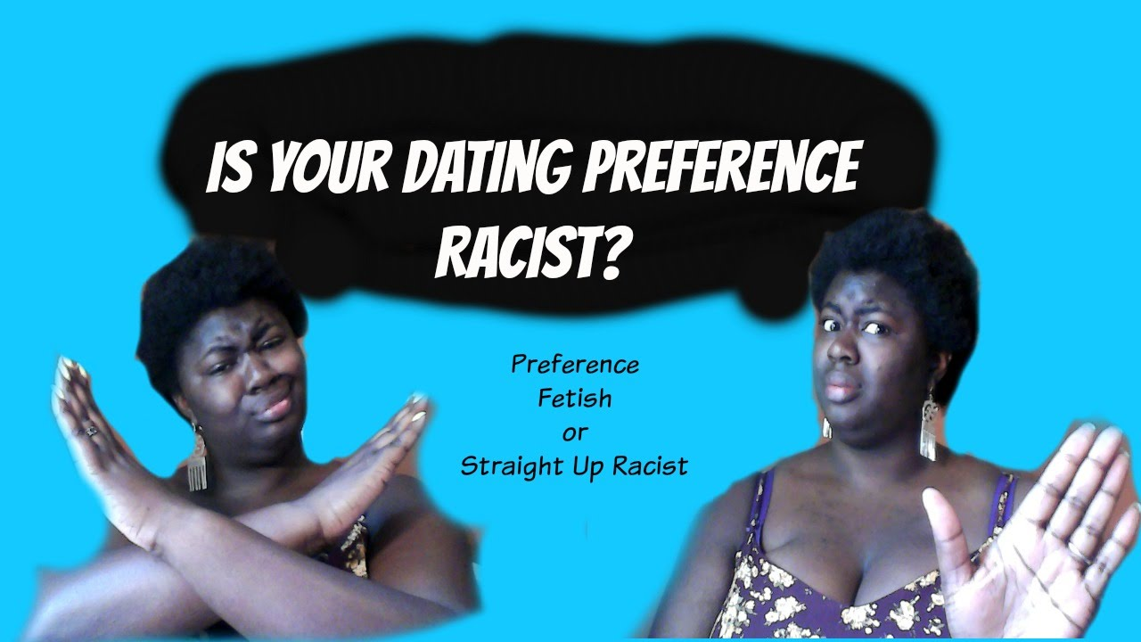 Are black dating sites racist