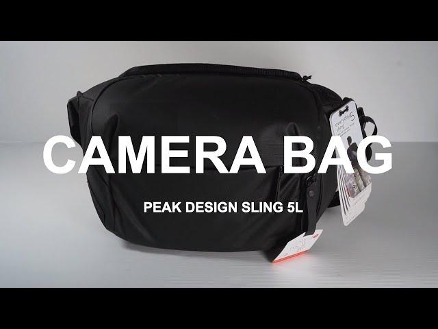 Peak Design Sling 5L Camera Bag - Unboxing & Specs
