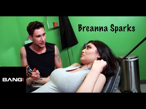 Brenna Sparks gets an intimate tattoo experience