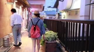 [G7X MARKII]Take a walk at Mosaic Square,Kobe ,Japan.