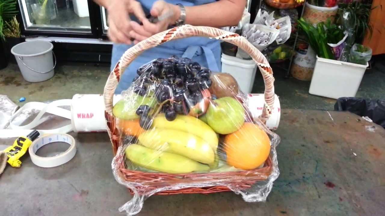 BuyFlower.sg - How to Make Fruit Basket   Buy Fruit ...