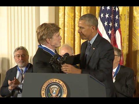 Robert Redford Awarded Medal Of Freedom