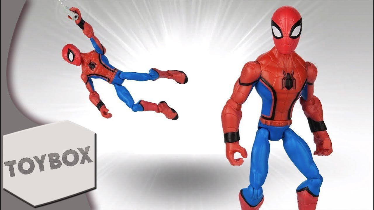 Disney Infinity Inspired Spider Man Quottoyboxquot Figure Is Now