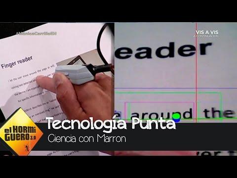 El lector de libros artificial con Mónica Carrillo - El Hormiguero 3.0