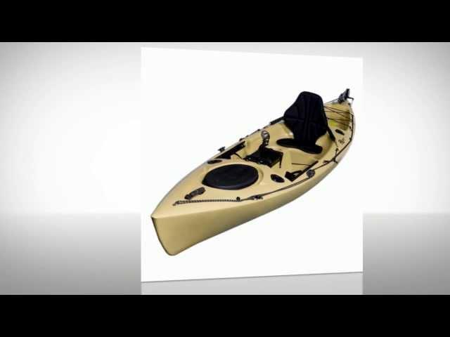 Riot Kayaks Escape 12 Angler SitOn-Top Flatwater Fishing Kayak  - Best Fishing Goods